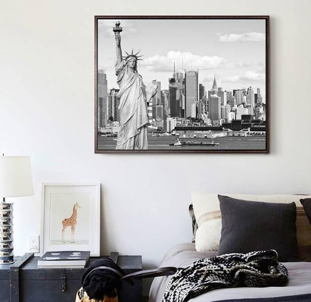 Ảnh 5: Tranh phong cảnh thành phố