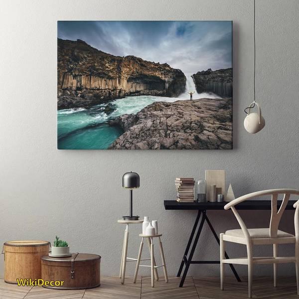 Ảnh 2: Tranh phong cảnh thác nước