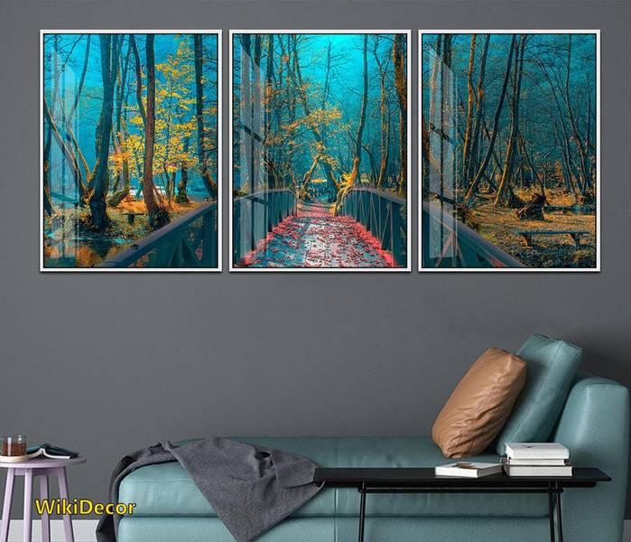 Ảnh 1: Tranh phong cảnh thiên nhiên